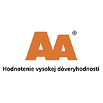 AA Hodnotenie vysokej dôveryhodnosti